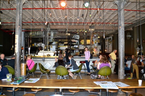 Have a cup of coffee at the Truth coffee shop in Capetown, South Africa