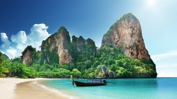 Visit every rock climber's dream destination of Railay Bay, Thailand